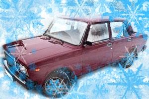 Ваз-2107 зимой